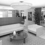 Projeto para Hall do Edifício Cannes Residence em Curitiba-PR  2011